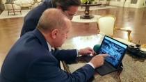 CUMHURBAŞKANLIĞI KÜLLİYESİ - Cumhurbaşkanı Erdoğan, AA'nın 'Yılın Fotoğrafları' Oylamasına Katıldı