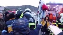 GÜNCELLEME- Isparta'da Minibüs Devrildi Açıklaması 15 Yaralı