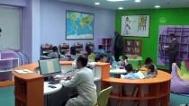 İnegöl'de İlkokula 'Z Kütüphane' Kuruldu