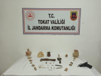 TARİHİ ESER KAÇAKÇILIĞI - Jandarma Operasyonu Ofisten Tarih Çıkardı