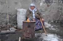 Kars'ta 70 Yaşındaki Ninenin Eksi 10'Da Yaşam Mücadelesi