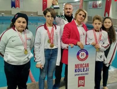 Malatya'da Okullararası Yüzme Yarışmalarında Şampiyon Mercan Koleji Oldu