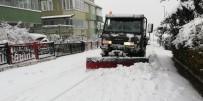 Odunpazarı Belediyesi Karla Mücadelede Mesaide