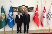 Rektör Bağlı'dan KKTC Din İşleri Başkanı Prof. Dr. Atalay'a Ziyaret
