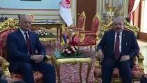 MUSTAFA ŞENTOP - TBMM Başkanı Şentop, Moldova Cumhurbaşkanı Dodon İle Bir Araya Geldi