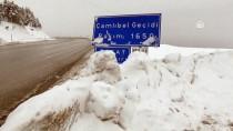 Tokat'ta Kar Yağışı Yüksek Kesimlerde Etkili Oldu