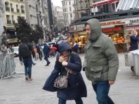 Vatandaşın Şiddetli Rüzgarla Sınavı