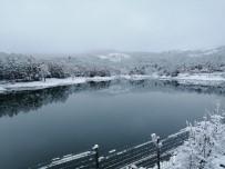 Yozgat Çamlığı Milli Parkı Beyaza Büründü