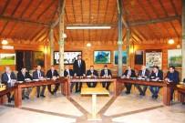 HÜSEYIN DOĞAN - AK Partili İlçe Ve Belde Belediye Başkanları Gediz'de Toplandı