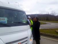 Erfelek'te Servis Şoförleri Denetlendi
