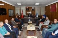 İŞİTME ENGELLİLER - Federasyon Temsilcilerinden Vali Akbıyık'a Ziyaret