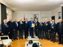 GAZİLER DERNEĞİ - Gazi Muzaffer Canpolat'a Milli Mücadele Madalyası Verildi