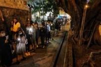 HAVAİ FİŞEK - Hong Kong Yeni Yıla Protestolarla Giriyor