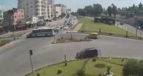 ALPARSLAN TÜRKEŞ - Işık İhlali Yapan Sürücü Kaldırımdaki Kadına Çarptı