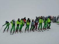 Isparta Davraz'da Kulüpler Arası Kayak Yarışmaları Yapıldı