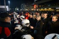 İstanbul Valisi Ali Yerlikaya, Taksim'de Yılbaşı Tedbirlerini Denetledi