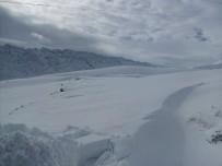 KATO DAĞı - Kato'da Kar Kalınlığı 3 Metreyi Aştı