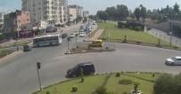 ALPARSLAN TÜRKEŞ - Kırmızı Işıkta Geçti, Kaldırımda Yürüyen Kadına Çarptı