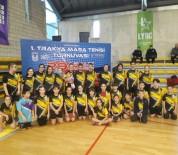 Lüleburgaz'da Trakya Masa Tenisi Turnuvası Düzenlendi