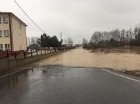 TARIM ARAZİSİ - Sakarya'da Sağanak Yağış Su Baskınlarına Neden Oldu