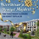 Sivrihisar'a TOKİ'den Yeni Yıl Müjdesi