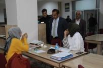 Solhan'da Örnek Çalışma Kurum Müdürleri, Kütüphane Nöbeti Tutuyor