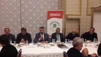 ÇÖP KONTEYNERİ - Yazıhan'da Muhtarlar Bir  Araya Geldi
