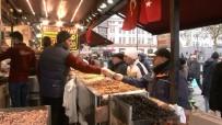 KURUYEMİŞ - Yeni Yıla Saatler Kala Alışveriş Hareketliliği Sürüyor