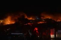 Zeytinburnu'nda Dokuma Fabrikasında Yangın Çıktı