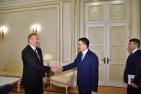 EKONOMİK İŞBİRLİĞİ TEŞKİLATI - Azerbaycan Cumhurbaşkanı Aliyev, Tarım Ve Orman Bakanı Pakdemirli'yi Kabul Etti
