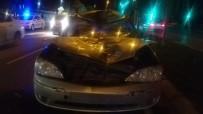 YAŞLI ADAM - İzmir'de Feci Kaza Açıklaması Bisiklet Sürücüsü Metrelerce Sürüklendi
