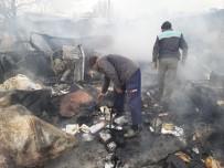 ESENPıNAR - Van'da Ev Yangını