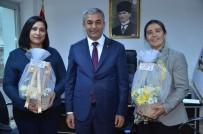 KADıN HAKLARı GÜNÜ - Başkan Kaplan, Koçarlı'da Seçimle Göreve Gelen Kadınları Unutmadı