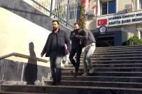 Eyüpsultan'da Gündüz Vakti Televizyon Çalan Hırsızlar Önce Kameraya Sonra Polise Yakalandı