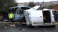 Gaziosmanpaşa'da Feci Kaza Açıklaması 1'İ Ağır 3 Yaralı