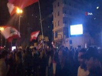 BAŞBAKANLIK - Hariri'ye Yakınlığı İle Bilinen Başbakan Adayı Hatib Protesto Edildi