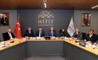 OSMAN ÖZTÜRK - Hitit Üniversitesi Stratejik Planı Masaya Yatırıldı
