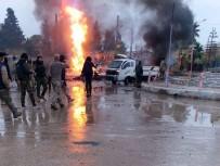 CEYLANPINAR - Rasulayn'da 2 Bomba Yüklü Araç Patladı Açıklaması 1 Ölü, 6 Yaralı