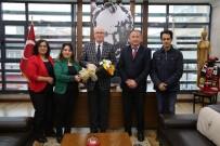 SEVDER Yöneticileri Başkan Kazım Kurt'u Ziyaret Etti