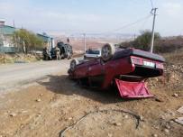 GÖKÇEBAĞ - Siirt'te Araç Takla Attı Açıklaması 1 Yaralı