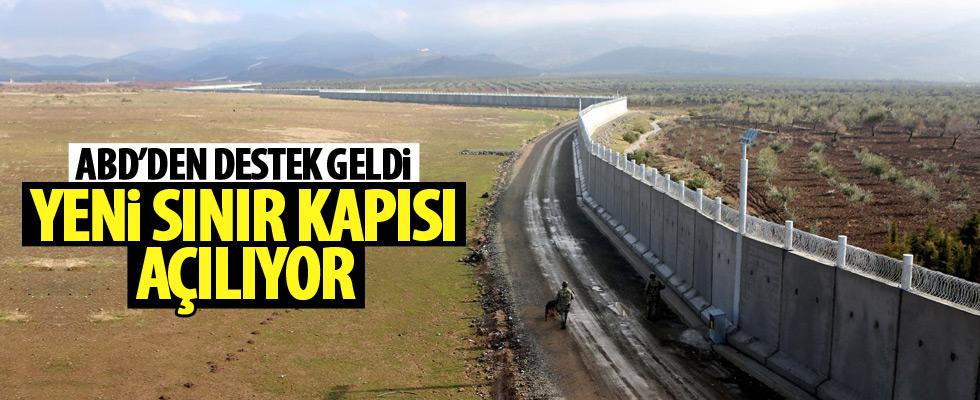 ABD'den yeni sınır kapısına destek!
