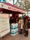 TÜRK KAHVESI - AK Partili Gençlerden Dünya Türk Kahvesi Günü'nde 40 Yıllık İkram