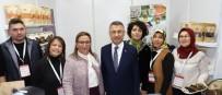 TİCARET BAKANLIĞI - Alaşehir'in Yöresel Ürünleri Ankara'da Sergilendi
