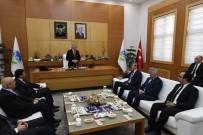 ZIYA CEVHERLI - Başkan Yüce, Kazakistan Ankara Büyükelçisi Abzal Saparbekuly'u Ağırladı