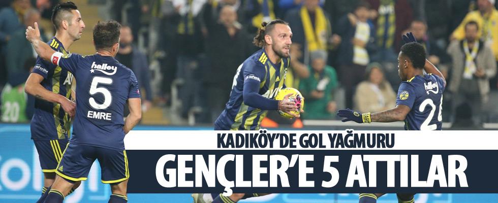 Fenerbahçe'den farklı galibiyet!