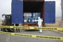 ŞÜPHELİ ARAÇ - Gürbulak Sınır Kapısında 18,4 Ton Siyanür Yakalandı