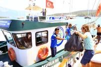 GÖCEK - Teknelerden 1 Milyon 650 Bin Kilogram Çöp Toplandı