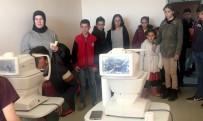 Ardahan'da 'Bir Çocuk Bir Dünya Projesi' Kapsamında 100 Çocuğa Göz Muayenesi Yapıldı