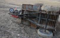 Elazığ'da Traktör Devrildi Açıklaması 1 Ölü