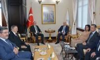 VEYSEL EROĞLU - Irak Büyükelçisi Cenabi, Vali Tutulmaz'ı Ziyaret Etti
